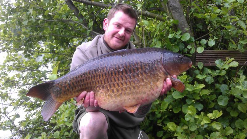 Matt Randall, one of my syndicate members with one of our typical common carp