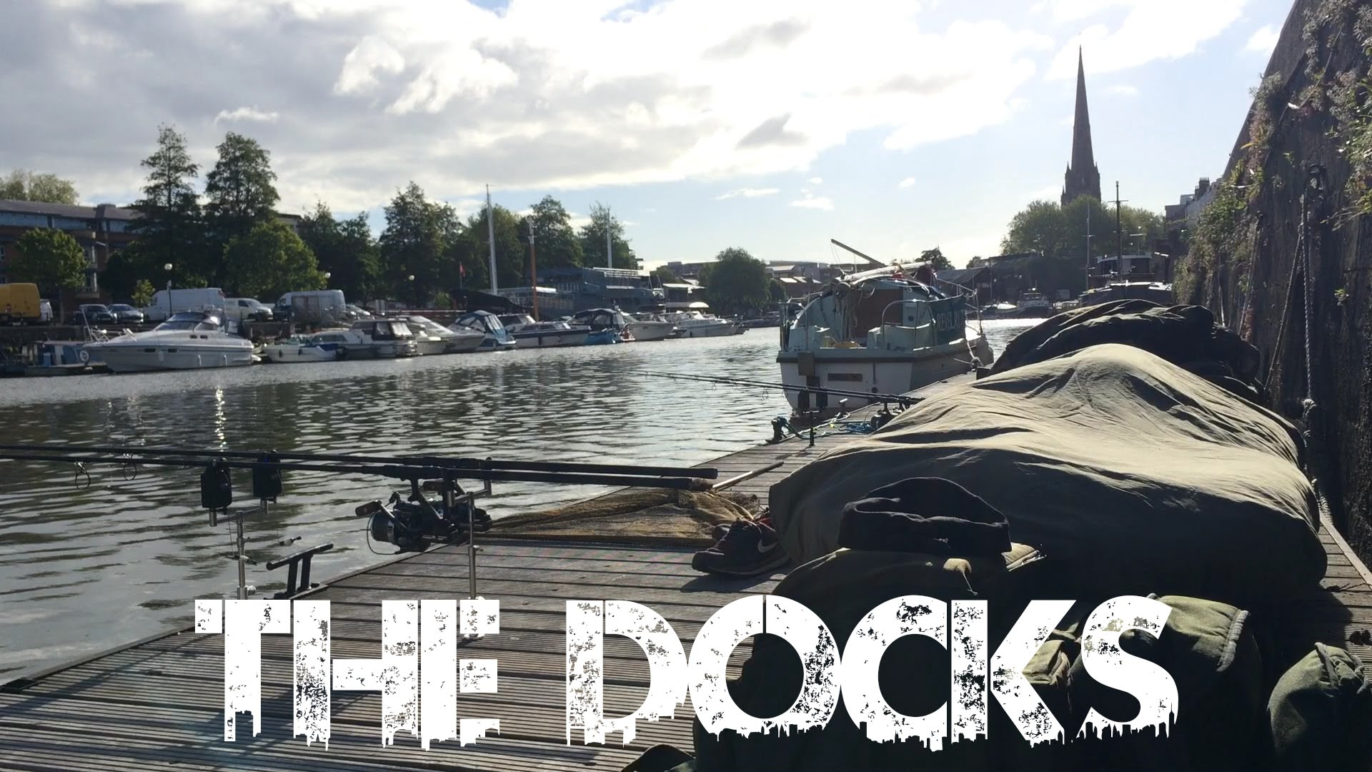 Urban Carp Fishing: The Docks